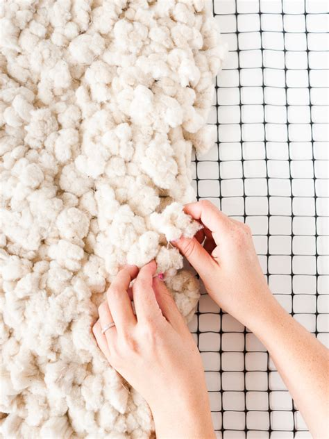 how to make a large scale rug from scratch