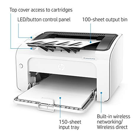 Hp Laserjet Pro M12w Wireless Printer Garansi Resmi Hp hp laserjet pro m12w wireless laser printer t0l46a mk