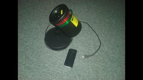 shower laser light repair shower usb hack
