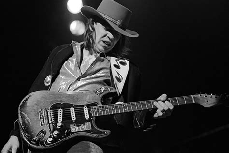 stevie ray vaughans fender stratocaster  iconic guitars rolling stone