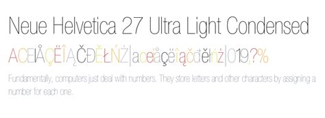 helvetica neue light apk neue helvetica 174 27 ultra light condensed fonts