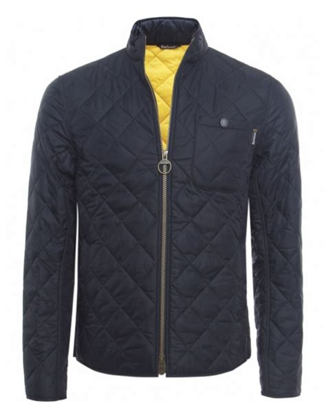 Barbour Quilted Jackets For by Barbour Axle Quilted Jacket In Blue For Navy Lyst