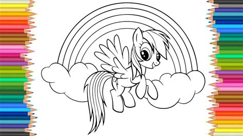 my little pony mermaid coloring pages my little pony coloring page l coloring markers videos for
