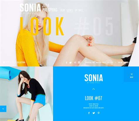 design fashion site 20 creative solutions for fashion websites