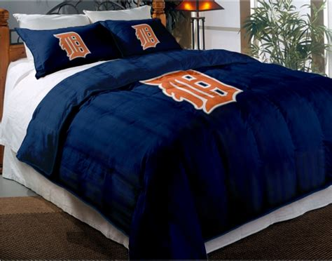 Detroit Tigers Comforter by Detroit Tigers Mlb Chenille Embroidered Comforter Set