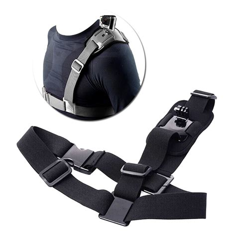 Shoulder Harness For Gopro Sjcam Sj4000 Sj5000 Xiaomi Yi shoulder mount harness for gopro sjcam gopro 4 sport cameras xiaomi yi sjcam