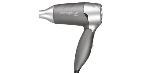 Hair Dryer 1200 Watts travel smart by conair 1200 watt folding travel hair dryer