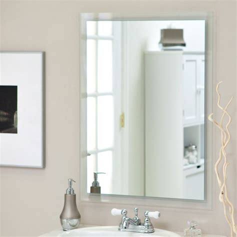 decor wonderland francisca large frameless wall mirror have to have it frameless south park wall mirror 23 5w
