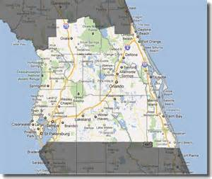 1000 images about central florida on the map