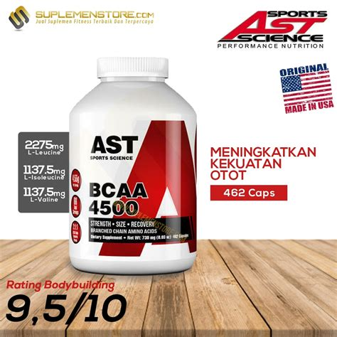 Bcaa Ast 462 Caps by Ast Bcaa 4500 462 Caps Suplemenstore
