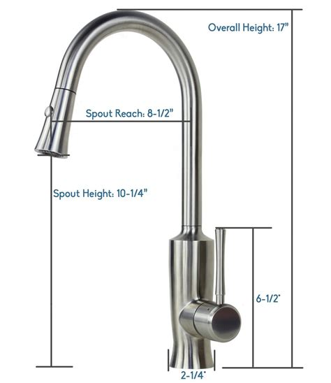 Lead Free Kitchen Faucet Ariel Venus Stainless Steel Lead Free Pull Out Sprayer Kitchen Faucet