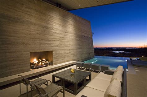 gallery of desert wing kendle design 20 desert wing outdoor room contemporary exterior