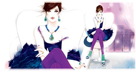 fashion jewelry images illustrations vectors fashion fashion illustration 171 bree leman