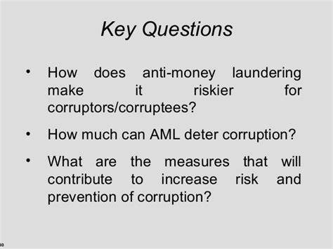 Mba Concentration Anti Money Laundering money laundering presentation