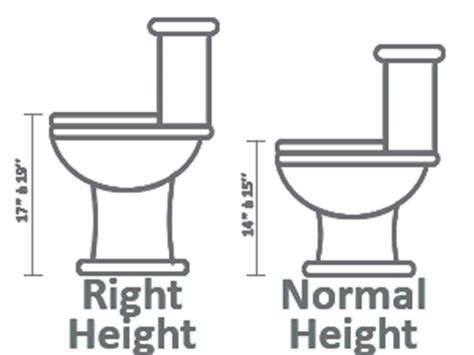 Wc Height From Floor by How To Choose A Toilet
