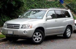 2001 Toyota 4runner Reliability 2001 Toyota Highlander Information And Photos Momentcar