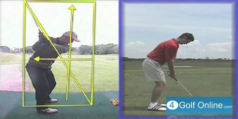 golf swing youtube lesson golf swing lesson on plane back swing youtube