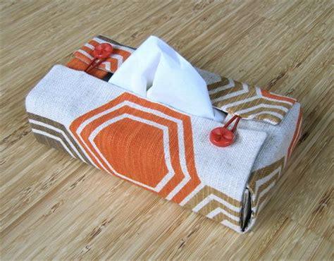 Tissue Covertempat Tissu couture facile diy housse boite 224 mouchoirs mouchoirs tuto et val 233 rie