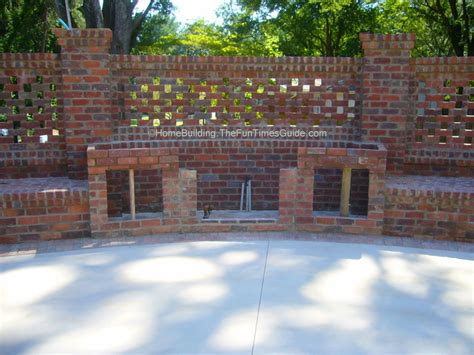 Brick Laminate Picture Brick Garden Wall Designs Garden Brick Walls