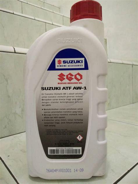 Filter Oli Suzuki Karimun Kotak Asli jual oli asli original transmisi matic suzuki sgo atf aw 1 1l atpm and lubricant