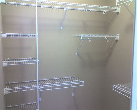 Wire Closet Shelving Parts by Wire Shelving In Closet