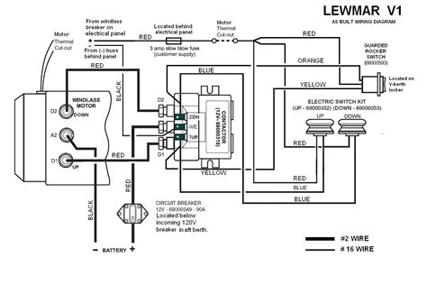 12v circuit breaker wiring diagram 2 pole circuit breaker