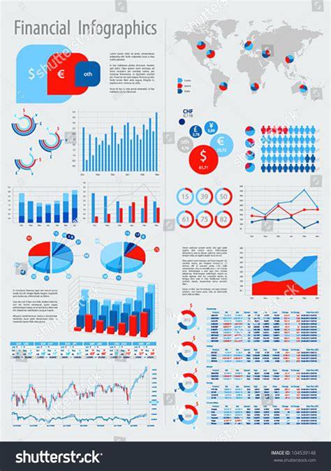 the infographic guide to personal finance a visual reference for everything you need to books financial infographic set charts other elements stock