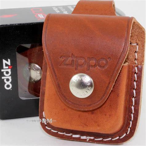 zippo holder zippo brown leather lighter pouch holder belt loop