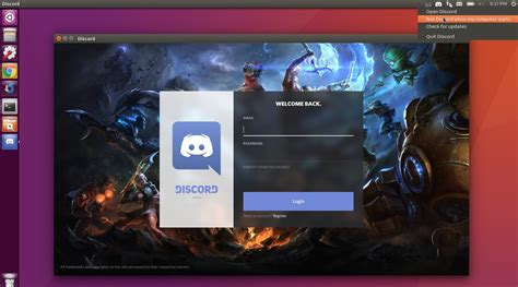 discord login how to install discord easily in ubuntu 16 04 higher