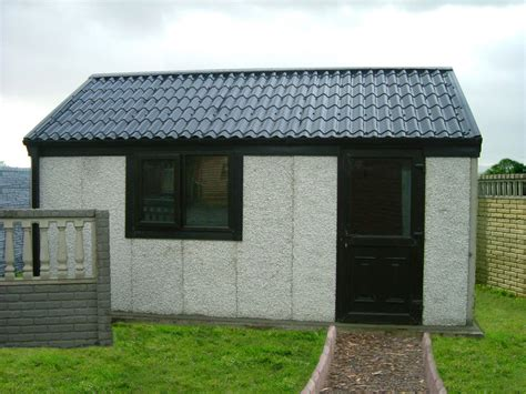 Shed On Concrete Blocks by Concrete Shed Ireland Dublin Wicklow Wexford Sheds Fencing Garages Shedworldwexford