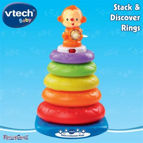 Vtech Stack N Discover Rings vtech baby stack discover rings
