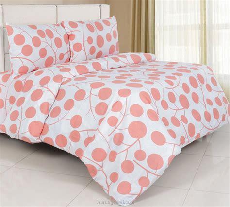 Sprei Motif Cherry Berry sprei panca cherry white orange warungsprei