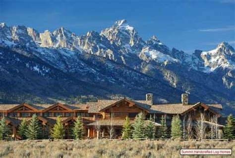 standout log homes plans  majestic mountain home