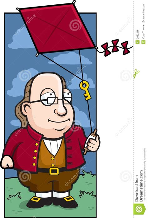 benjamin franklin biography cartoon ben franklin royalty free stock image image 2032216