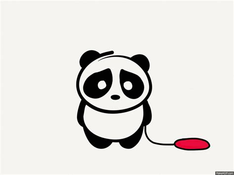 animation clipart sad panda gif find on giphy