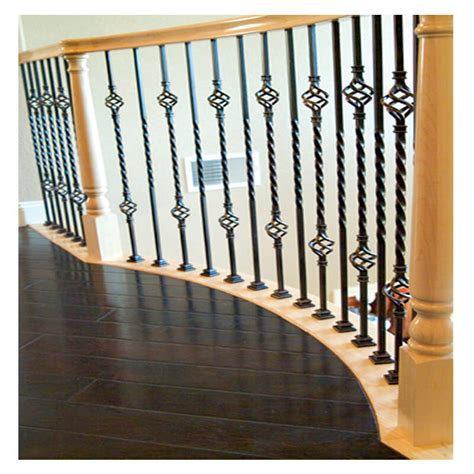 space between spindles banister double basket iron baluster stair parts com