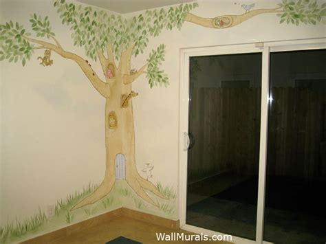 daycare wall murals tree wall murals 50 painted tree wall mural