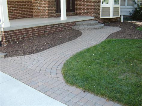 Brick Pavers Unilock Brick Paver Unilock St Clair Color Walkway Steps And