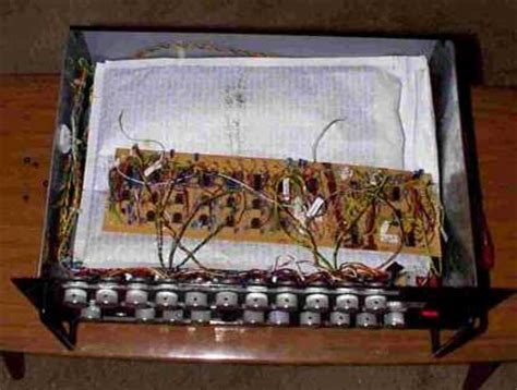 a switched capacitor emulates a cv hammond organ emulator with scanner vibrato and drawbars