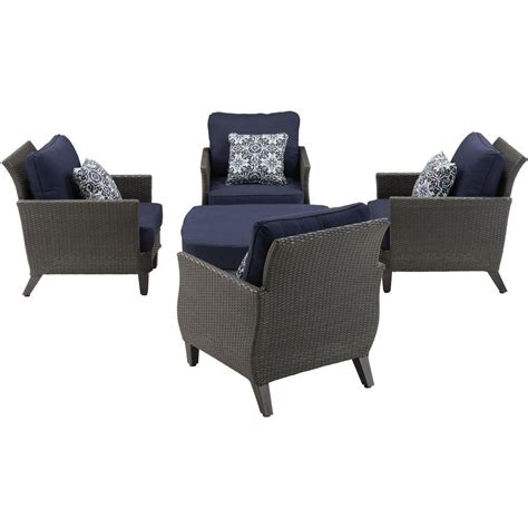 Java Set Navy rst brands astoria 5 pit chat set with cantina