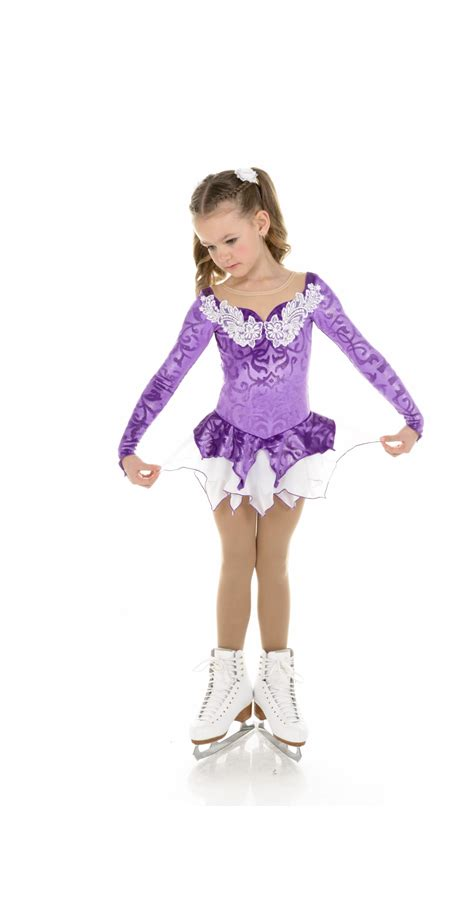 Figure Princess princess purple figure skating dresses