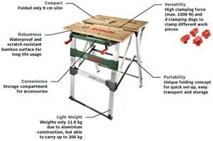 Portable Table Saw Bench Bosch Pwb 600 Workbench Amazon Co Uk Diy Amp Tools