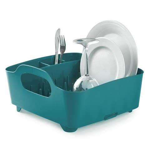 Tub Dish Rack by Umbra Tub Dish Rack Teal Modern Dish And Cutlery Drainer