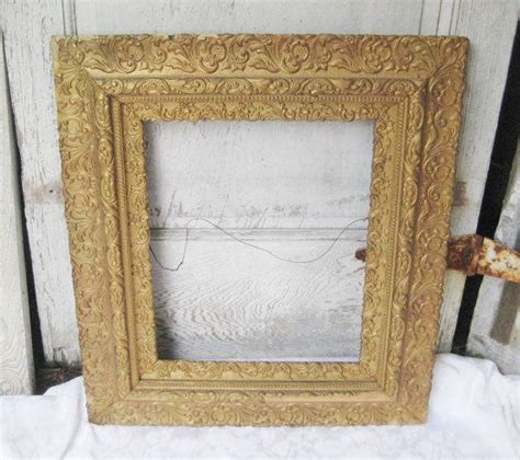 large decorative frame antique large frame decorative ornate frame gold gesso