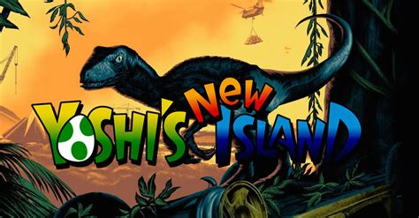 sports fan island reviews jurassic world yoshi new island poster yzgeneration