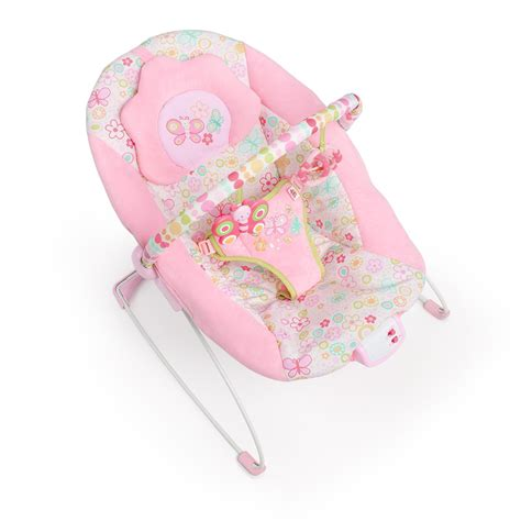 Bright Starts Meadow Blossoms Bouncer best pink baby bouncer bouncing babies