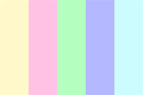 sickly sweet color palette