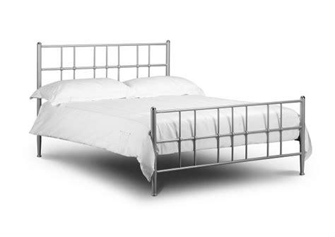 chrome bed frame julian bowen braemar 3ft single aluminium metal bed frame by julian bowen