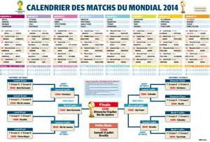 calendrier des matches de la coupe du monde 2014 au br 233 sil