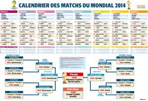 calendrier de la coupe du monde 2014 de football buzzraider